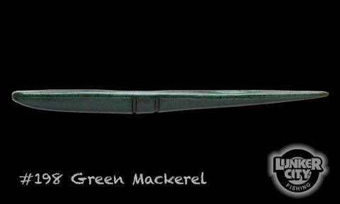 "Slug-go 9"" Green Mackeral 3 Pack"