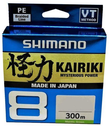 Shimano Kairiki 8 Green 300M 15Lb 0.16Mm