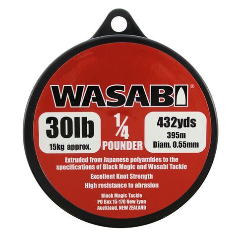 Wasabi 1/4Lb Spool 30Lb, 432 Yards