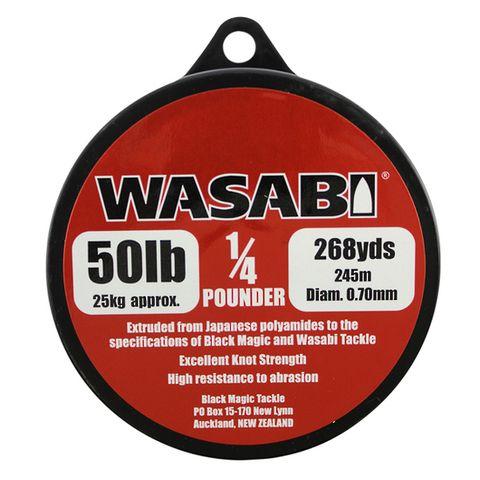 Wasabi 1/4Lb Spool 50Lb, 268 Yards