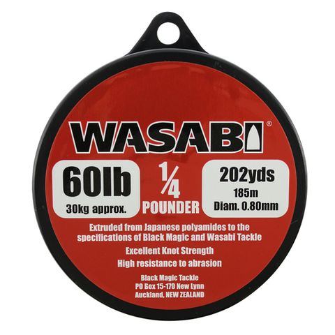 Wasabi 1/4Lb Spool 60Lb, 202 Yards