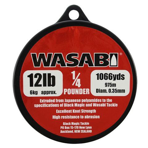 Wasabi 1/4Lb Spool 12Lb, 1066 Yards