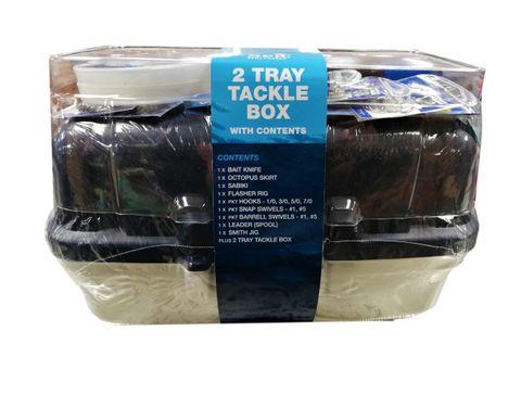 Tackle Box With Mixed Tackle