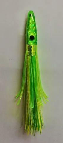Zuker Grass Series Lure Lime Head