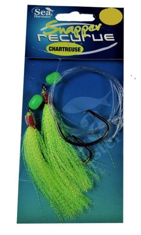 Sea Harvester Snapper Slayer 8/0 Chartreuse