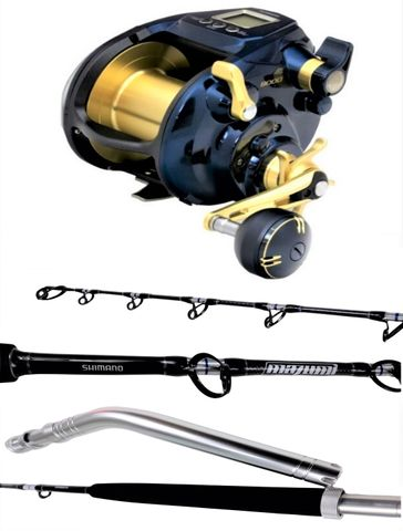 Shimano 9000A Beastmaster Electric Reel Combo