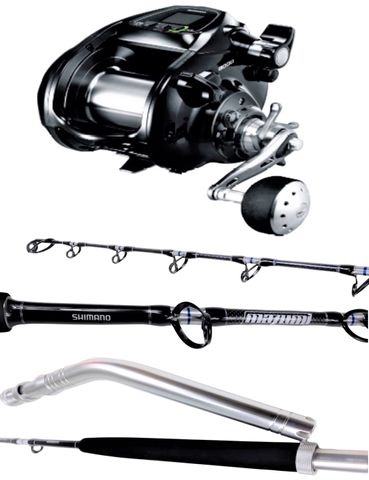 Shimano 9000 Forcemaster Electric Reel Combo