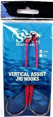 Sea Harvester Speed Jig Hooks 11/0 Twin Pack