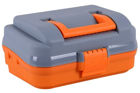 Tackle Box Single Tray Orange