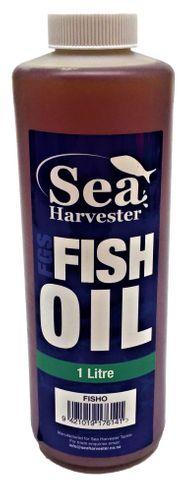 Sea Harvester Raw Fish Oil 1 Litre