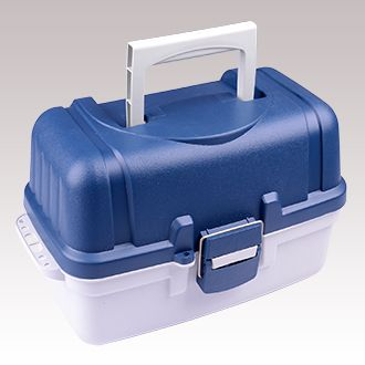TACKLE BOX TWO TRAY DELUX 8