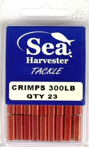 Sea Harvester Crimps 300Lb Qty 23 Bulk Pack