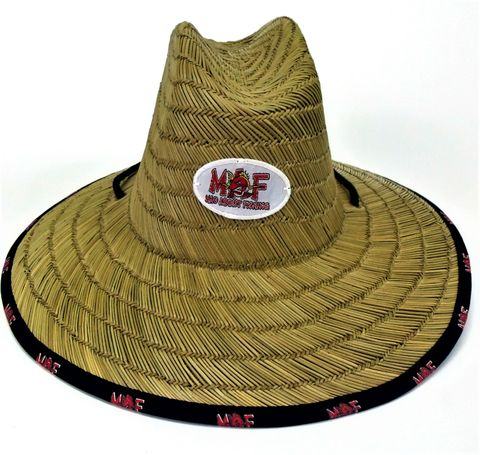 Mad About Fishing  Straw Hat (Ladies/Child)