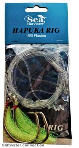 Sea Harvester Hapuka Rig 16/0 Flasher Chartruese