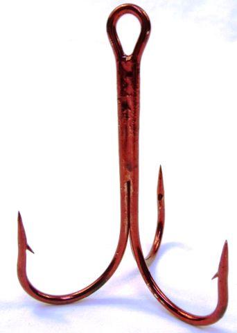 Sea Harvester Treble Hook 12/0 Red