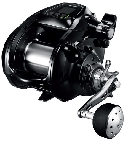 Shimano Ddm 9000 Forcemaster Power Assist Reel(Includes 1000M Of 80Lb Braid)