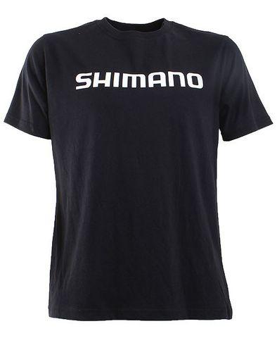Shimano T-Shirt Black Xxl