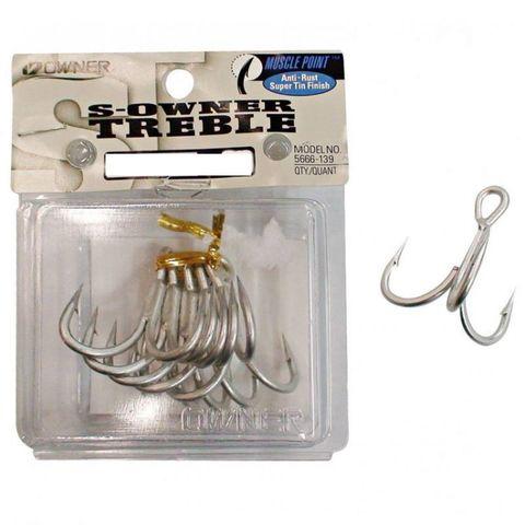 Owner Treble Hooks 2/0