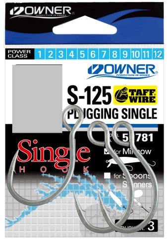 OWNER PLUGGING SINGLE HOOKS 7/0
