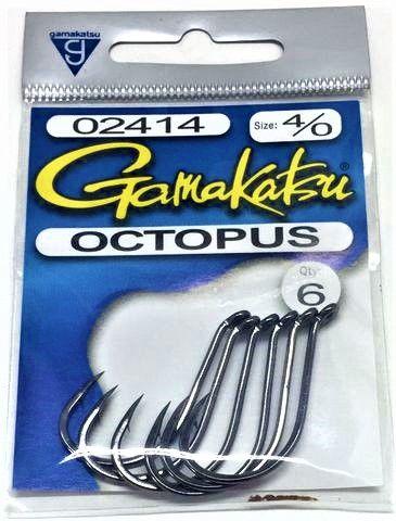 GAMAKATSU BLACK OCTOPUS PKTS