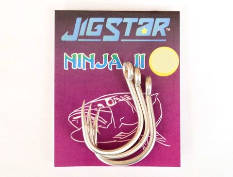 JIG STAR NINJA HOOK  13/0