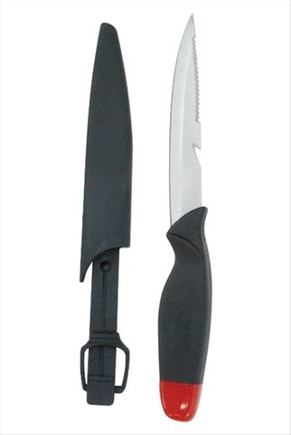 "SEA HARVESTER 5"" FLOATING KNIFE AND SHEATH"