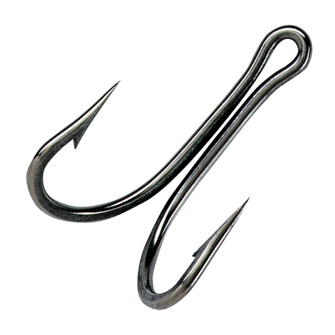 Mustad Double Hook 8/0 Stainless Steel