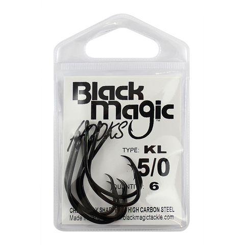 BLACK MAGIC KL 5/0 HOOK SMALL PACK