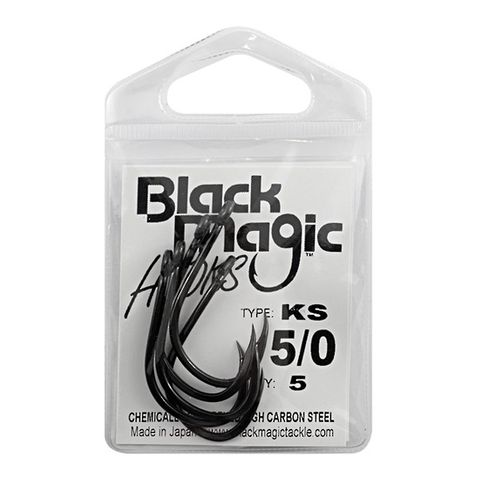 BLACK MAGIC KS 5/0 HOOK SMALL PACK