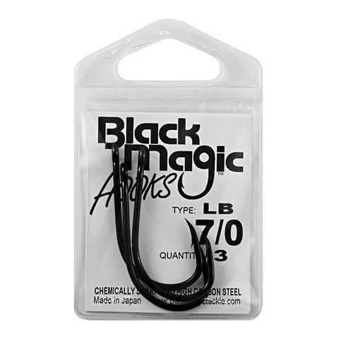 BLACK MAGIC LIVEBAIT HOOK SM PACK
