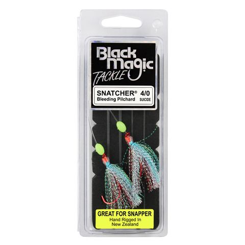 Black Magic Snapper Snatcher Bleeding Pilchard 4/0