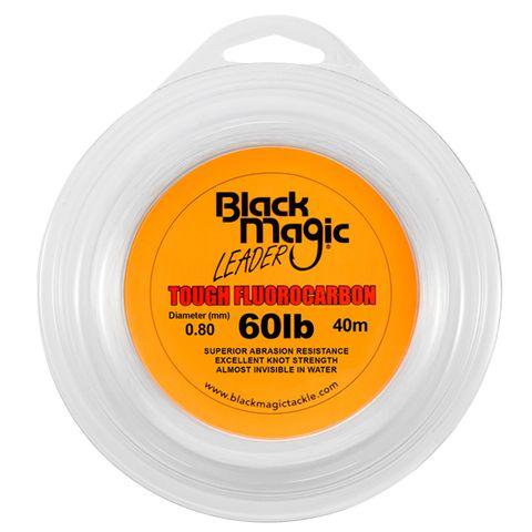 BLACK MAGIC TOUGH FLUOROCARBON 60LB 40M
