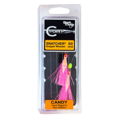 Black Magic Snapper Whacker Candy 5/0