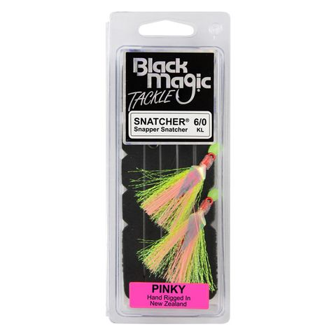 Black Magic Snapper Snatcher Pinky 6/0