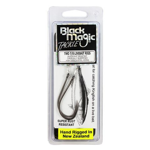 Black Magic Live Bait Rig 7/0