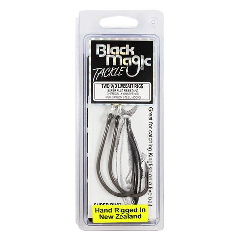 Black Magic Live Bait Rig 9/0