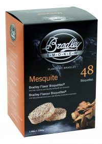 BRADLEY SMOKER MESQUITE BISQUETTES 48 PACK