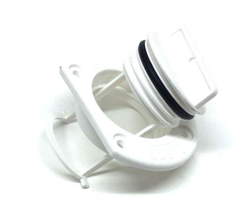 "Tenob 2"" Drain Plug & Base - White"