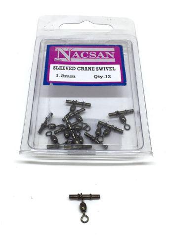 Nacsan Sleeved Crane Swivel 1.2Mm