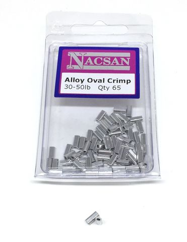 Nacsan Alloy Crimps 30-50Lb