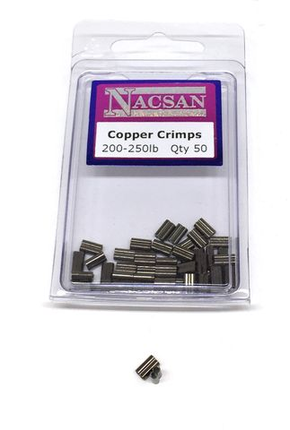 Nacsan Copper Crimp 200-250Lb