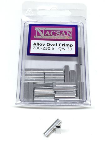 Nacsan Alloy Crimps 200-250Lb
