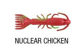 Berkley Gulp King Shrimp 5In Nuclear Chicken