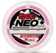 Momoi Pink Fluorocarbon 15LB x 30m