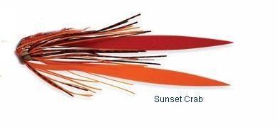Shimano Lucanus Jig Skirt Sunset Crab
