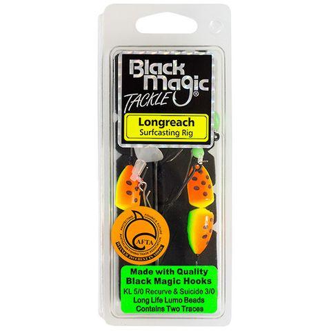 Black Magic Longreach Surf Rig Green Yellow Float