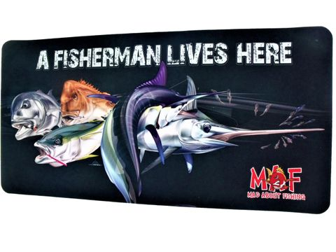 Mad About Fishing Rigging Mat