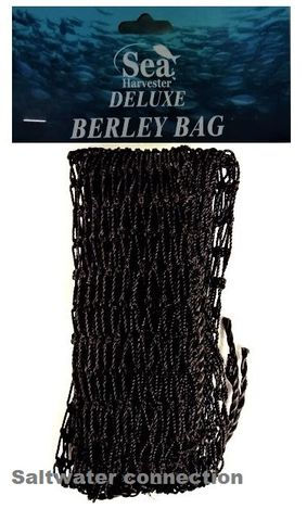 SEA HARVESTER BERLEY BAG ROCK BLACK