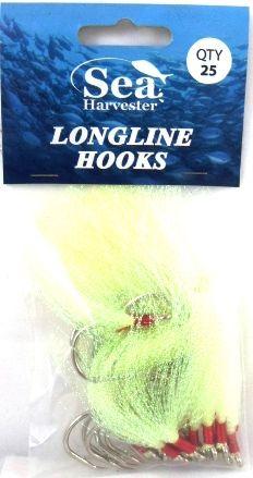 Sea Harvester Longline Flies Chartruese