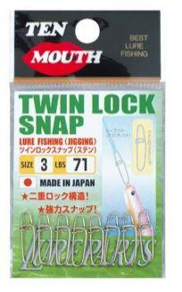 Ten Mouth Twin Lock Swivel Snap Tm 18 215Lb #5